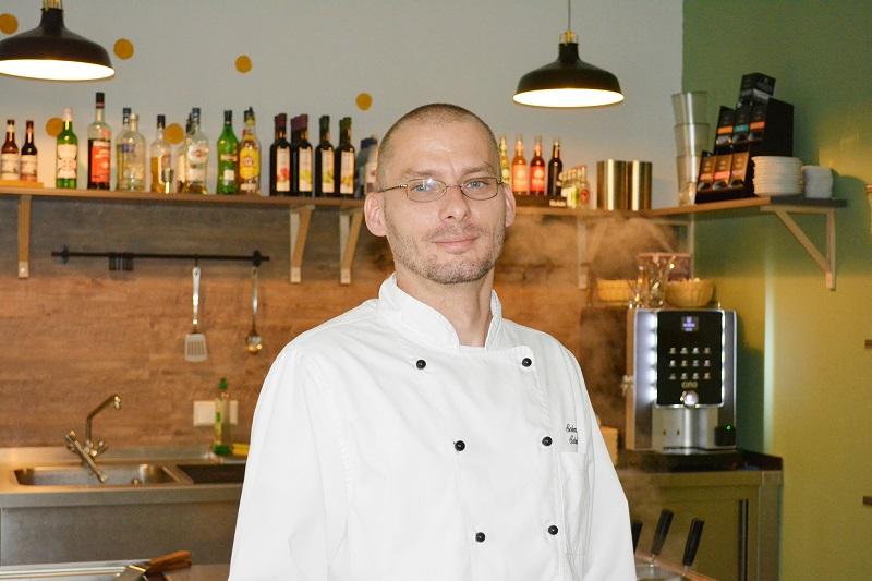 Sebastian Schmidt ist der Koch im Neubrandenburger Restaurant Herr Grünfink
