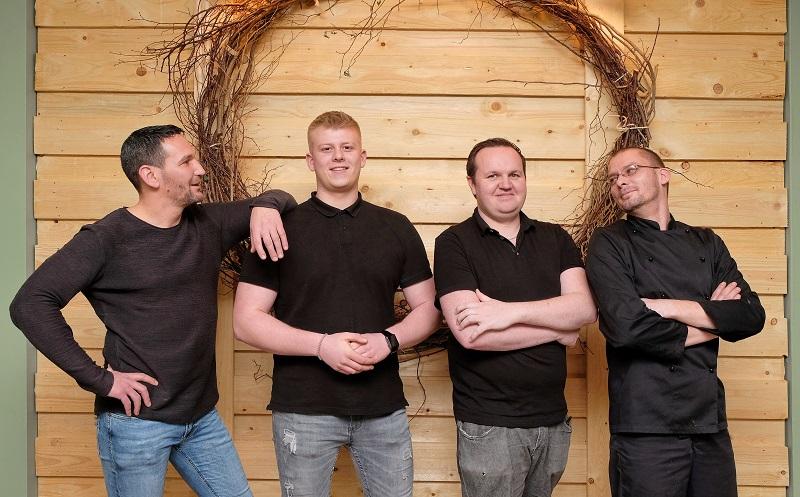 Das Team vom Restaurant Herr Grünfink