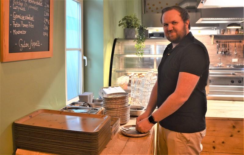 Auf frische, moderne Küche wie im Grünfink setzt der 36-jährige Grünfink-Mitarbeiter auch privat.